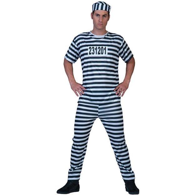Häftling Kostüm Grösse L