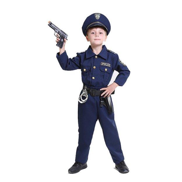 Polizei Kostüm Grösse 140