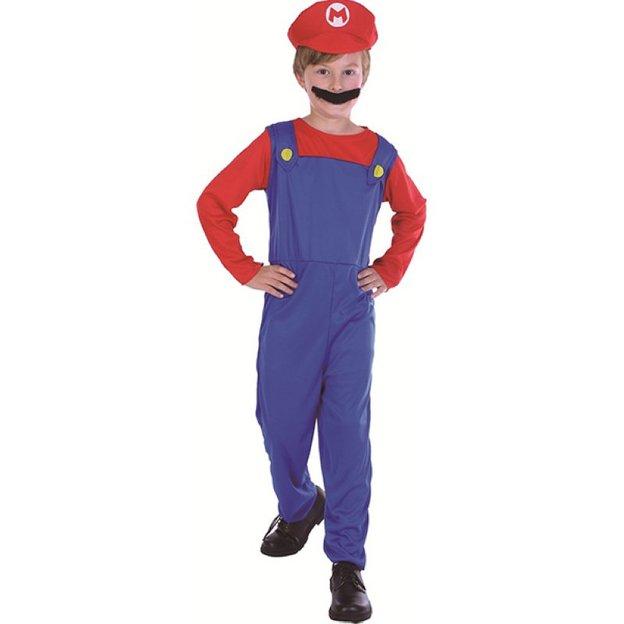 Costume Super Mario, S