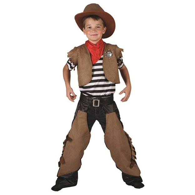 Cowboy Kostüm Grösse L