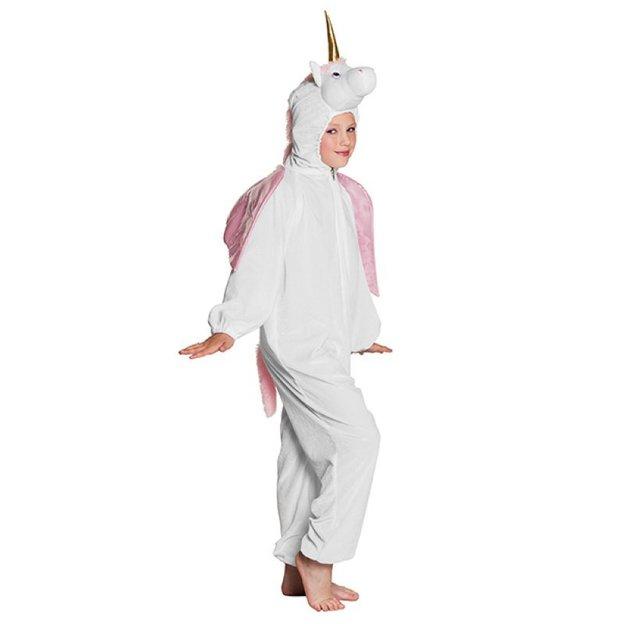 Einhorn Kostüm für Mädchen Grösse L