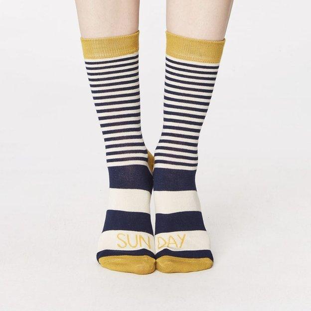 Thought Geschenkbox Bambus Socken Week Days