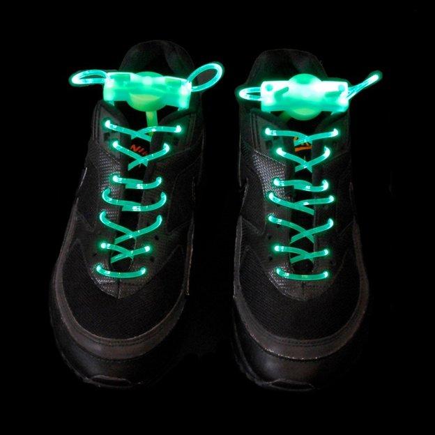 LED Schnürsenkel grün