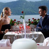 Repas de Saint-Valentin au lac des Quatre-Cantons