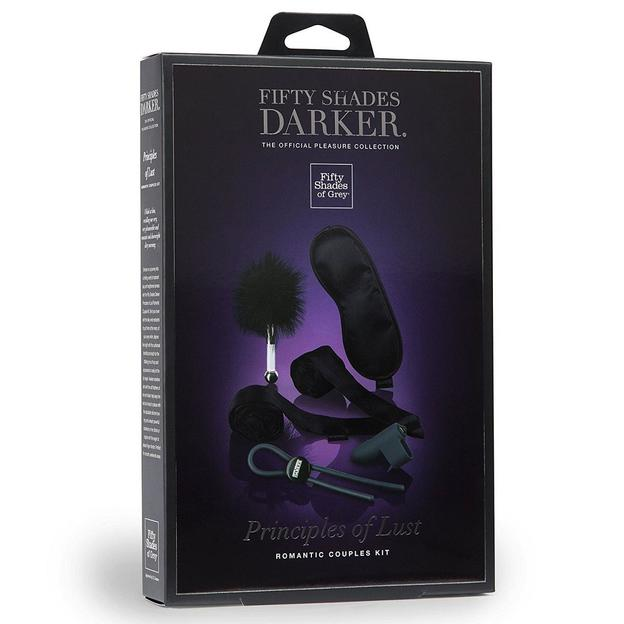 Fifty Shades of Grey Darker Principles of Lust Set
