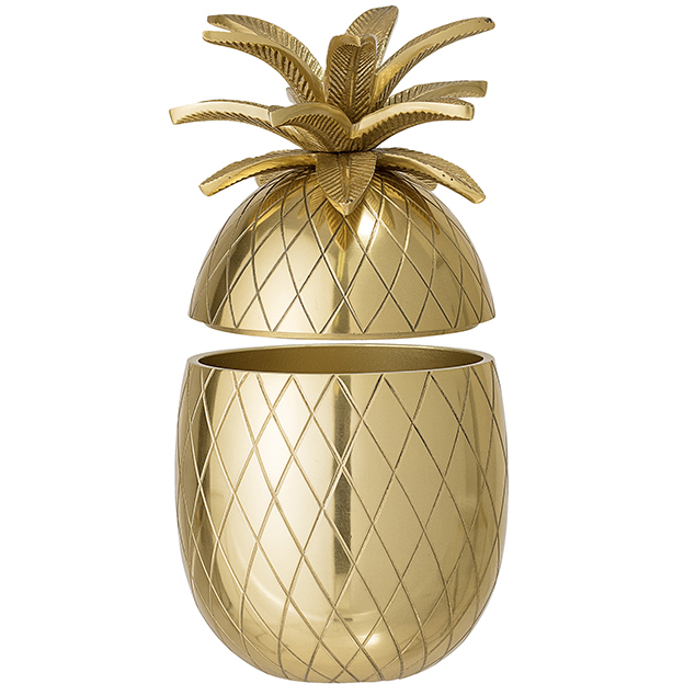 Bloomingville Ananas Ice Bucket, Gold