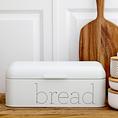 Bloomingville Bread Bin, Weiss