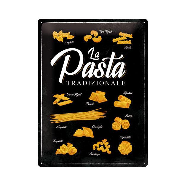 Blechschild Pasta 30 x 40