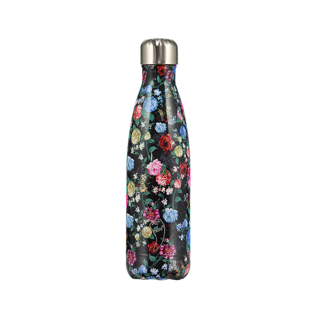 Chilly's Bottles Limited Edition, Trinkflasche Roses Floral 500ml