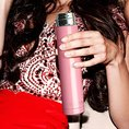 Skinny Mini Water Bottle, pink