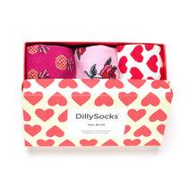 DillySocks Geschenkset Heart 36-40