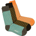 Chaussettes DillySocks - coffret cadeau Lining 36-40