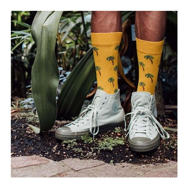 DillySocks Holiday Palm 41-46
