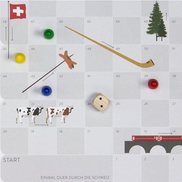 """Landauf, Landab """"Typisch Schweiz"""" Tischset"""