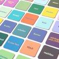 Memospiel Jugendsprache-Elternsprache 48 Karten