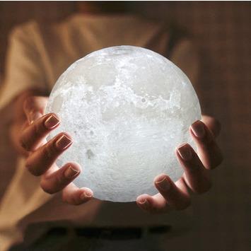 Die Schönsten Weihnachtsgeschenke.Led Mondlicht Mit Dimmfunktion ø 13 Cm