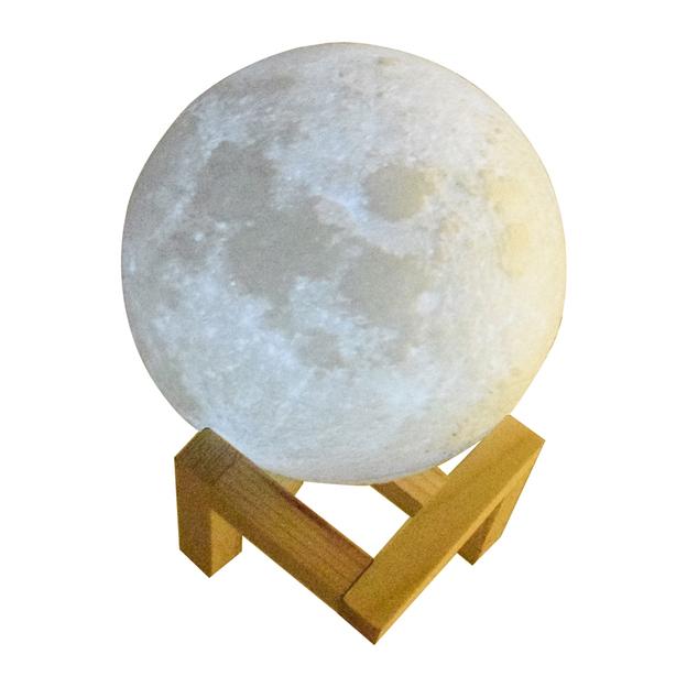 Lampe Lune 3D LED
