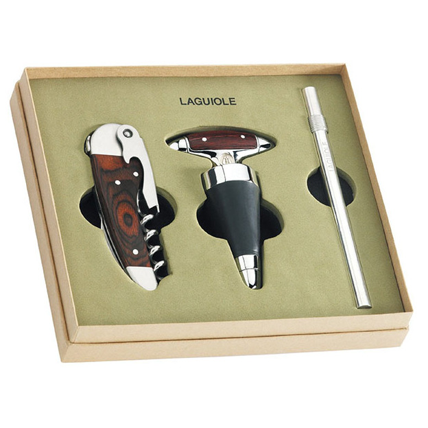 Set-cadeau vin Laguiole