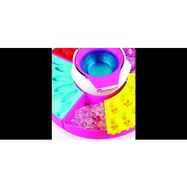 Machine à bonbons avec moules Salco