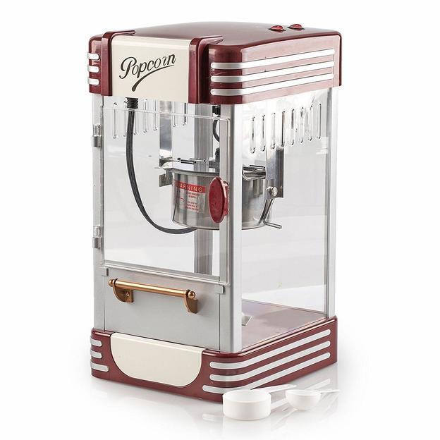 Vintage Popcornmaschine Happy mit Kessel