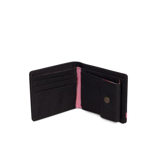 Porte-monnaie Herschel Roy + Coin RFID, noir