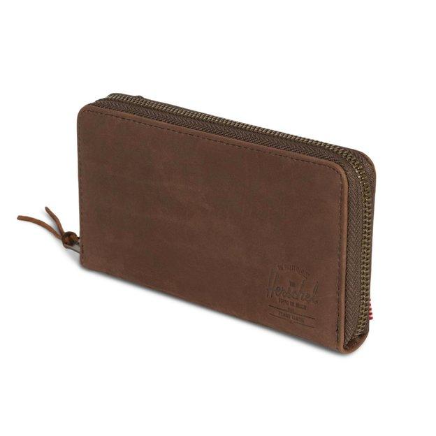 Herschel Portemonnaie Thomas Nubuck Leather RFID Brown