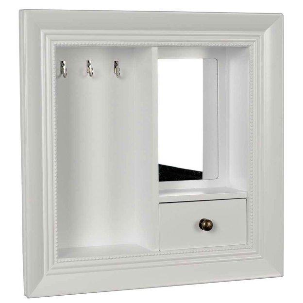 Schmuckkasten mit Spiegel zum Aufhängen