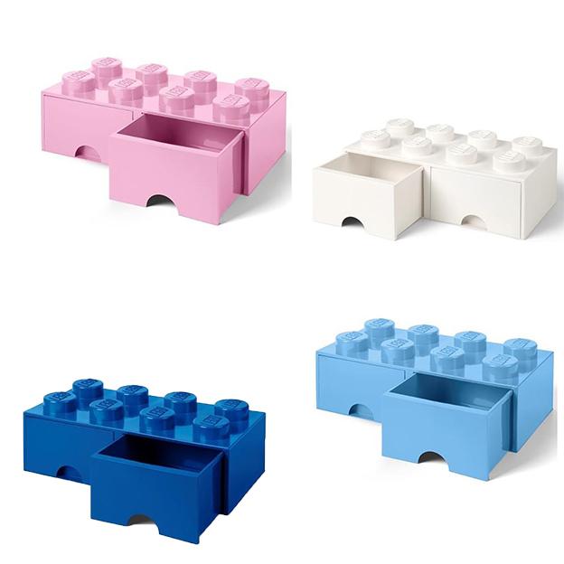 LEGO Aufbewahrungsbox Room Copenhagen mit Schubladen