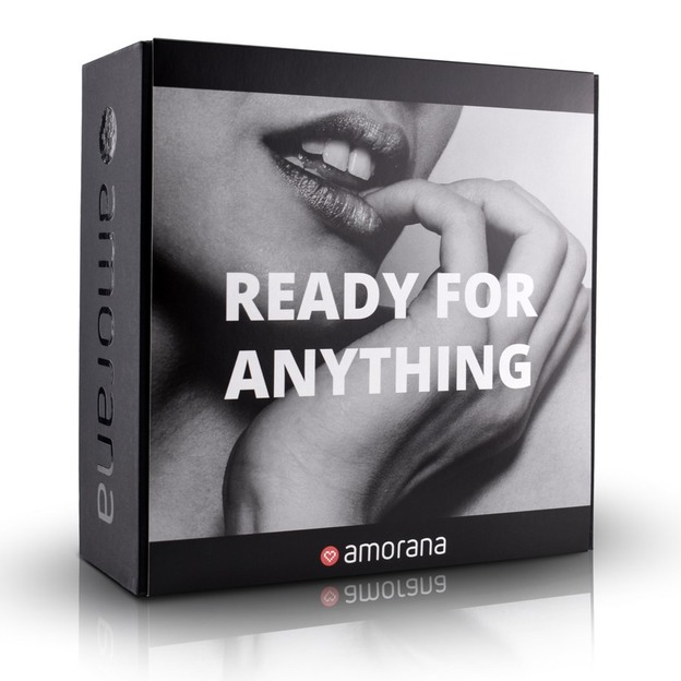 Coffret érotique «Ready for anything» Amorana
