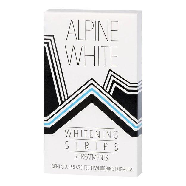 Bandes blanchissantes Alpine White Whitening Strips