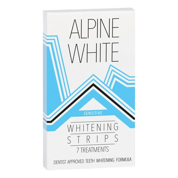 Bandes blanchissantes Alpine White Whitening Strips Sensitive
