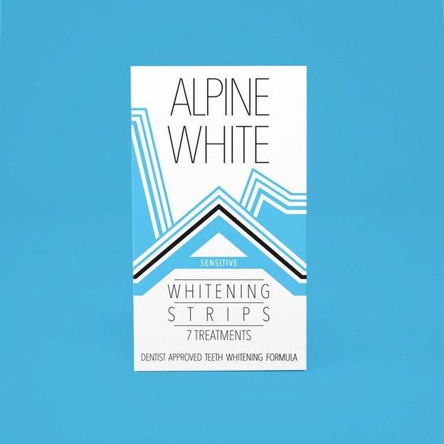 Zahnaufhellung Alpine White Whitening Strips Sensitive