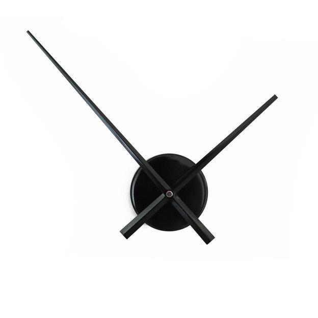 Horloge murale sans cadran Ø 50 cm, noire