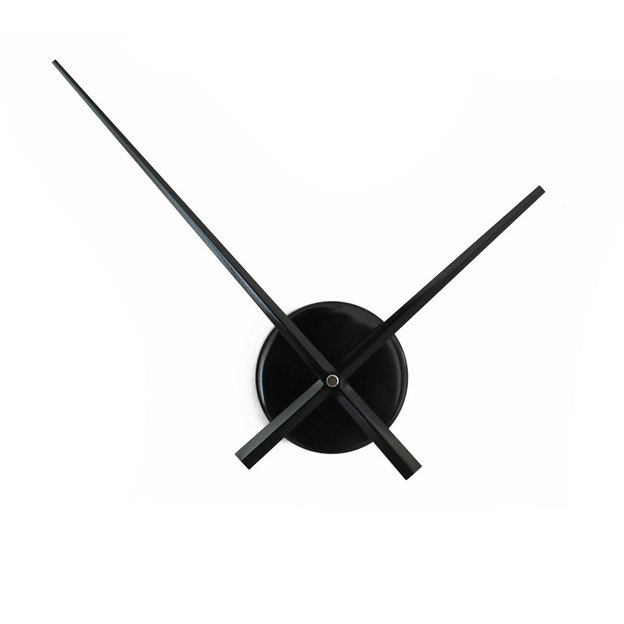 Wanduhr ohne Ziffernblatt Ø 50cm schwarz