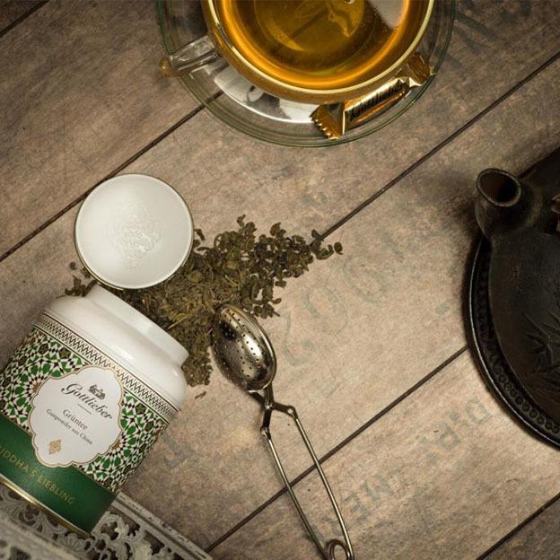 Gottlieber Tee Duo IV Chaitee & Grüntee (Gunpowder)