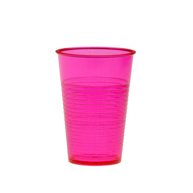 Trinkbecher 4er Set wiederverwendbar pink