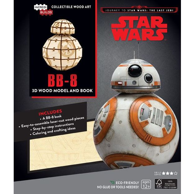 3D Modellbausatz Star Wars BB-8