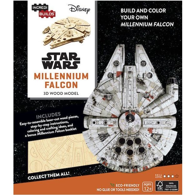3D Modellbausatz Star Wars Millennium Falcon