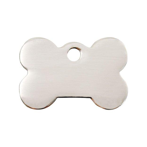 Médaille personnalisée pour chien et chat, moyenne, os
