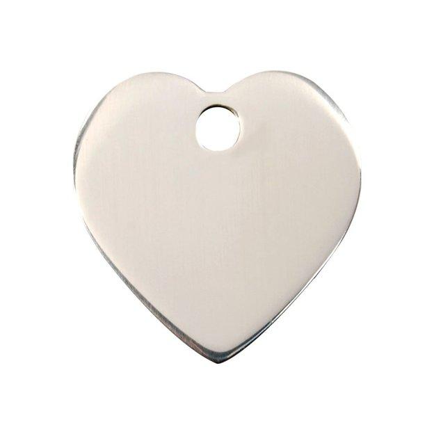 Médaille personnalisée pour chien et chat, grande, coeur
