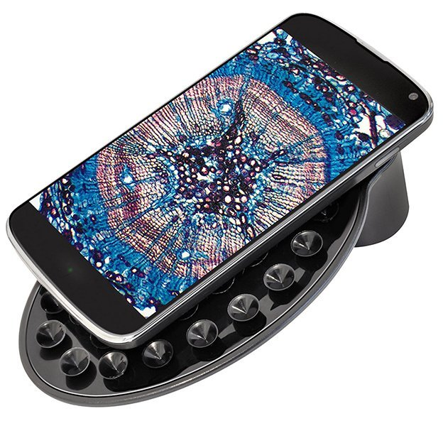 Microscope National Geographic avec adaptateur pour smartphone