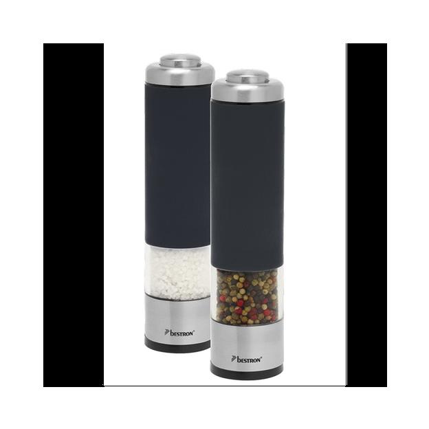 Elegantes und zeitloses Duo - elektrischer Salz- und Pfefferstreuer