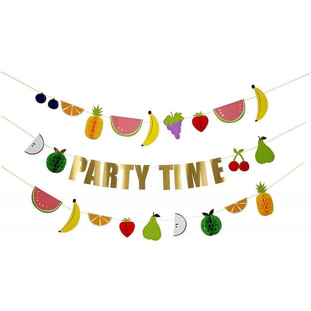 Guirlandes Party Time Fruits