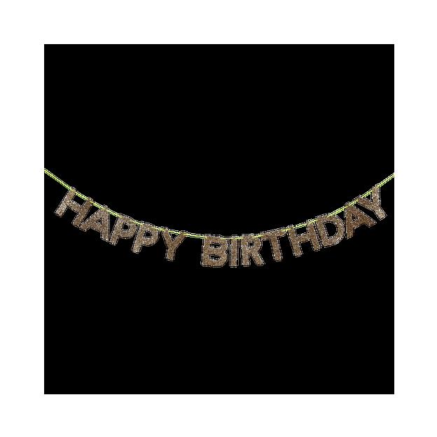 Guirlande Happy Birthday 2.4 m