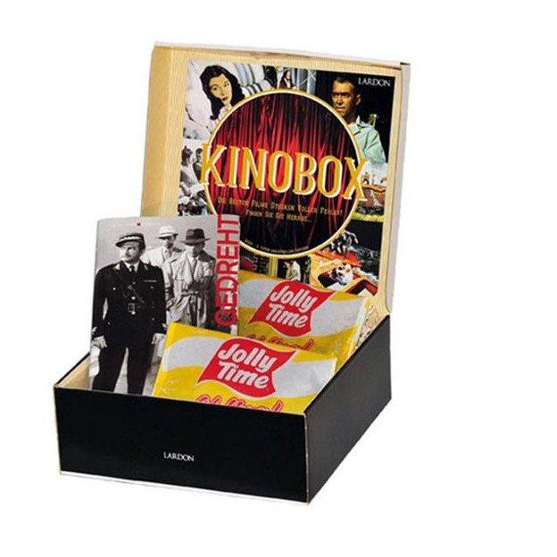 Kino Geschenkbox - Buch & 2x Popcorn
