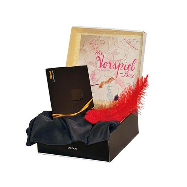 Vorspiel Geschenkbox - Buch, Feder & Seidentuch