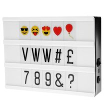 Cinema Light Message Box inkl. Emoji-Set