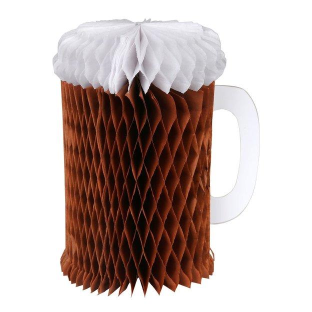 Grusskarte Partydeko Happy Beerday