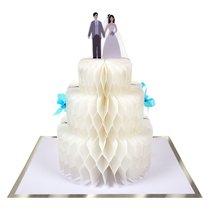 Grusskarte Hochzeitstorte