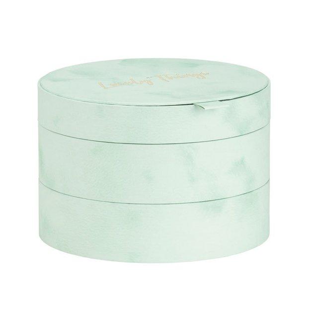 Geschenkbox Lovely Things mintgrün 3tlg.